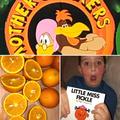 Deen found orange everywhere!