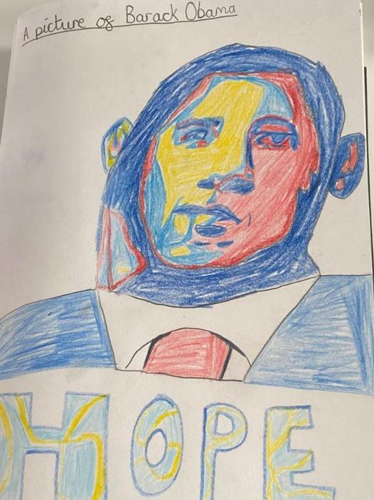 Art/PBL- Barack Obama Portraits