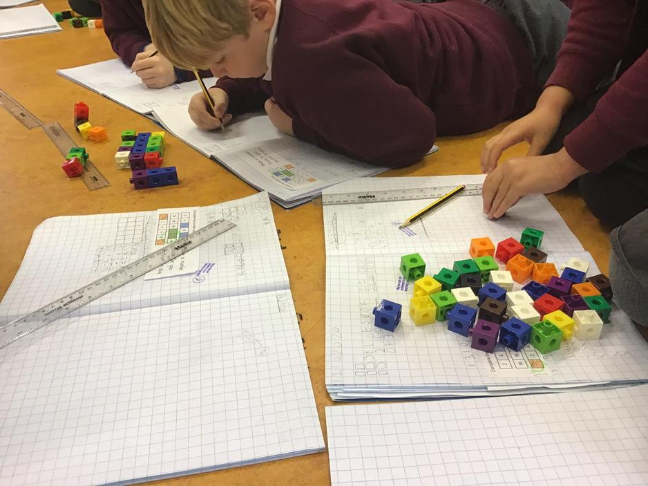 Times tables work in Maths