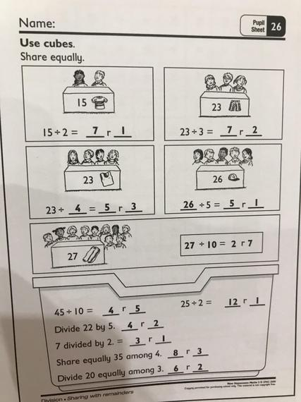 Pupil sheet 26