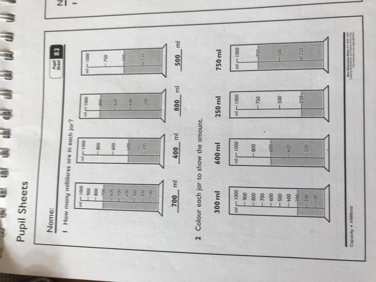 Pupil sheet 83