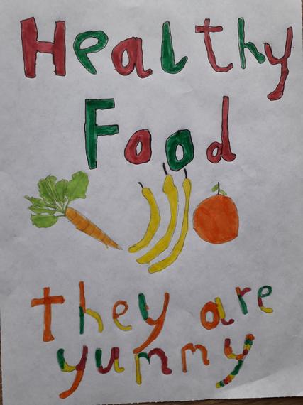 Harry John's Healthy Poster