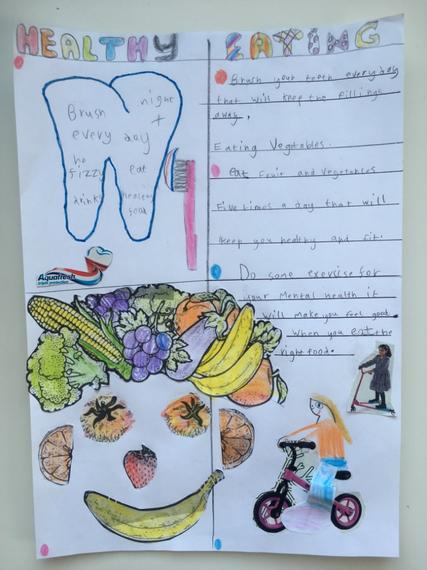 Charlotte Johnston's Healthy Poster