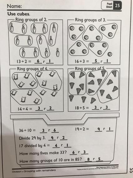 Pupil sheet 25