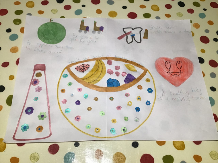 Kathryn's Healthy Poster