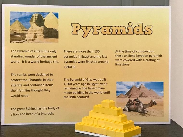 Brilliant Pyramid facts by Julia