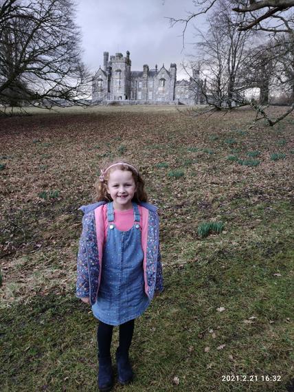 Lydia At Crom Castle