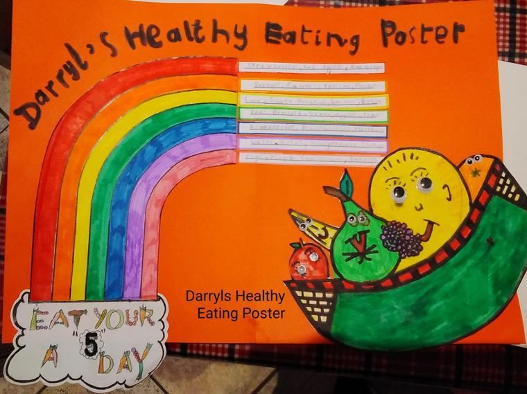 Darryl's Healthy Poster