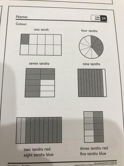 Pupil sheet 29