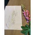 Flower sketch by Jared
