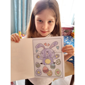 An Easter Card by Danielle