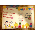 An Easter Card for Mr Mooney by Rebecka