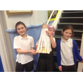 Imogen and Emily's pyramid