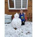 Maddi's snowman