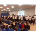 Our Christmas assembly.