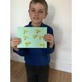 An Easter card by Daniel