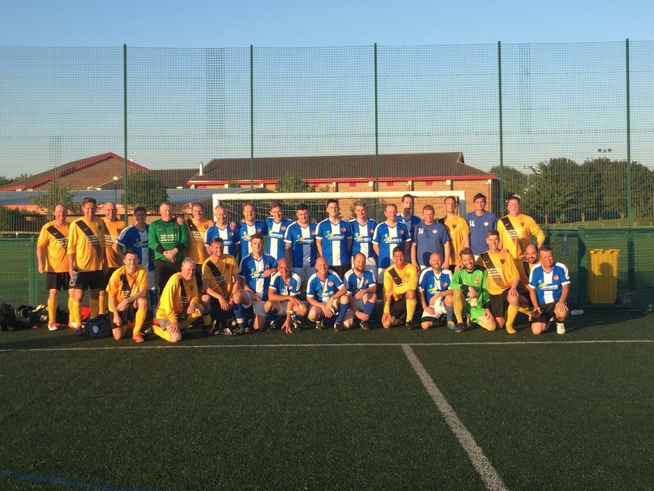 Football Fundraiser against Harborough Town Vets