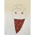 Cute Ice Cream by Emily