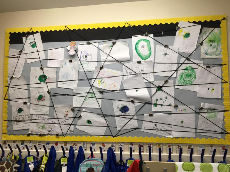 Fabulous Writing on our Wow Wall.