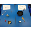Classifying magnetic and non-magnetic objects.