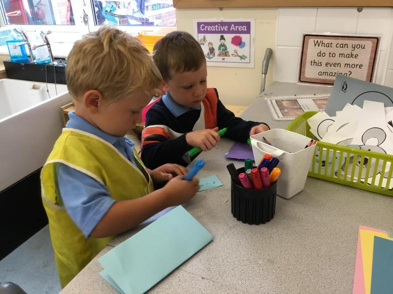 Mark making and Role Play