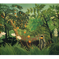 Original Rousseau 'Exotic landscape' 1910