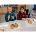 Bread tasting.