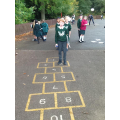 Year 3 practising their times tables