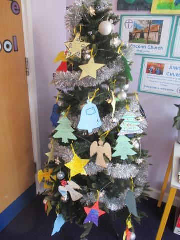 Christmas Prayer Tree