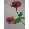 Water Colour Blooms Year 5 and 6