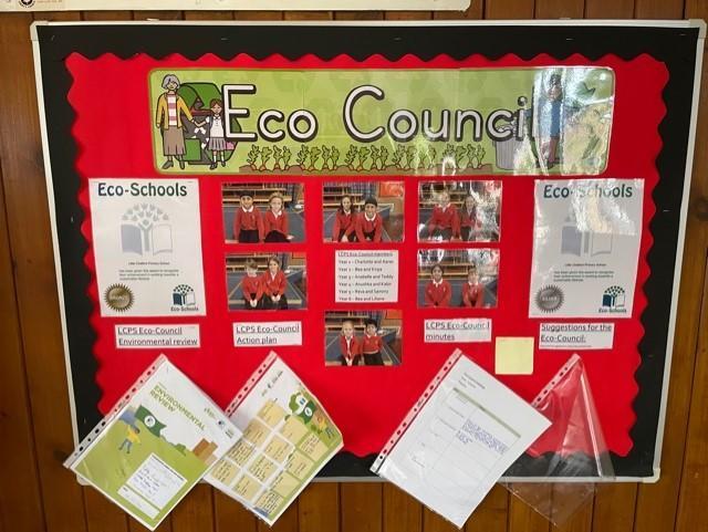 Eco Council noticeboard