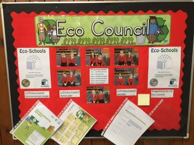 All the up to date information about what we are doing can be found on our Eco board