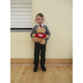 Ted Attendance Bear goes to Topaz Class!