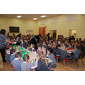 Lunchtimes in our super hall