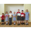Sharing our awards from outside school