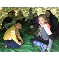 Forest school fun!