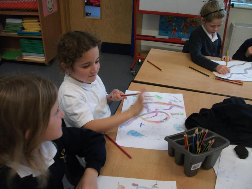 Y2 designed a map for a Midsummer Night's Dream