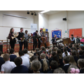 Jazz and Roots Ensemble performance