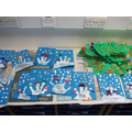 Our lovely snowman Christmas cards