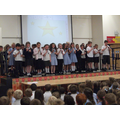 Playing our recorders in assembly