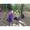 Learning skills in the woodland