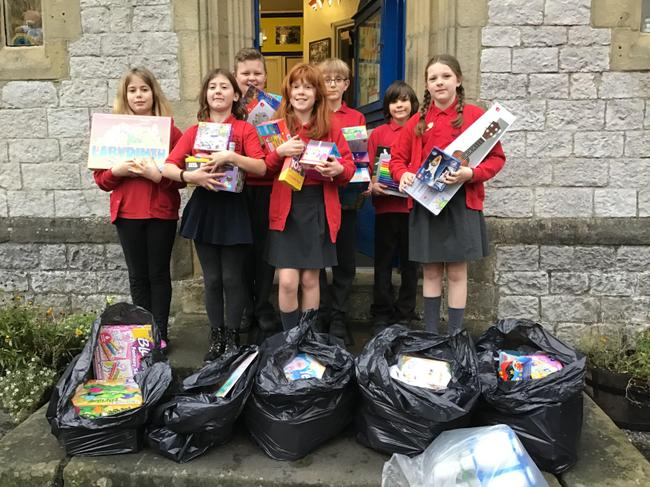 We have collected 6 sacks of new toys for a local Christmas Toy Appeal.