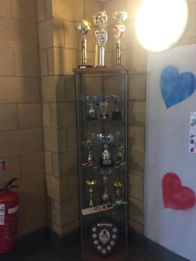 We have many local and national sport awards.