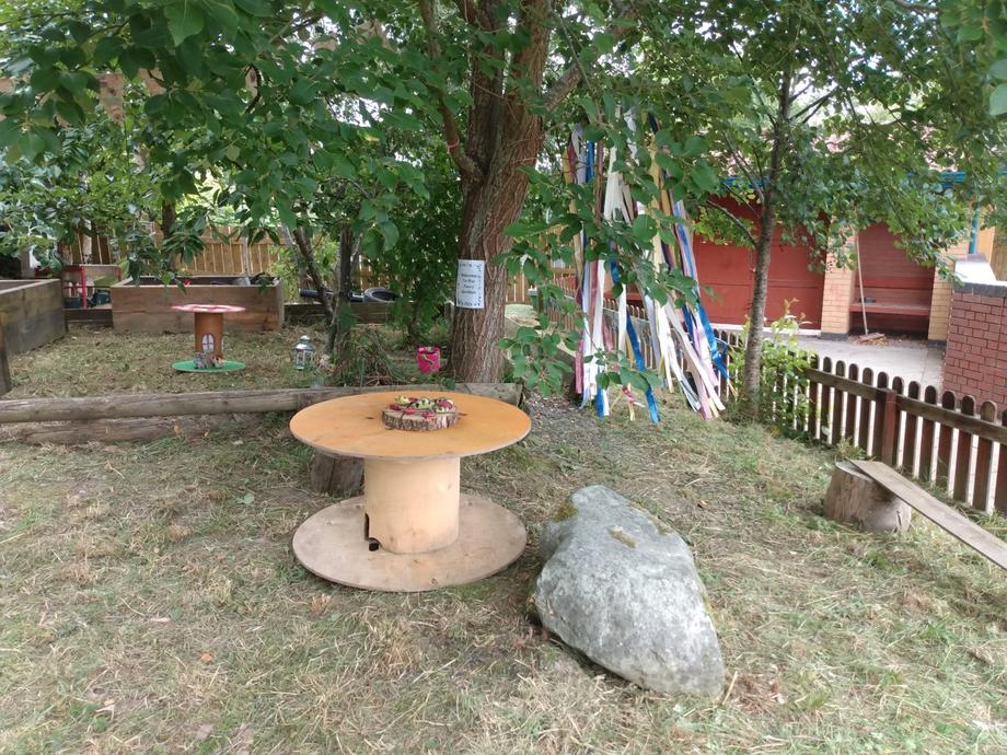 Our quiet area.