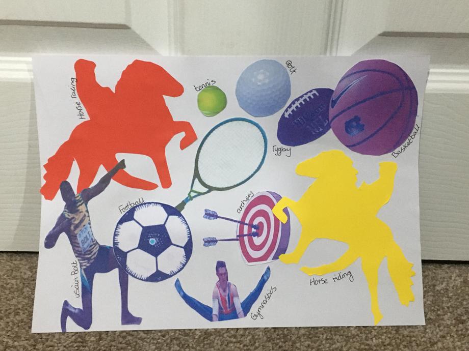 Freya's Sport Collage