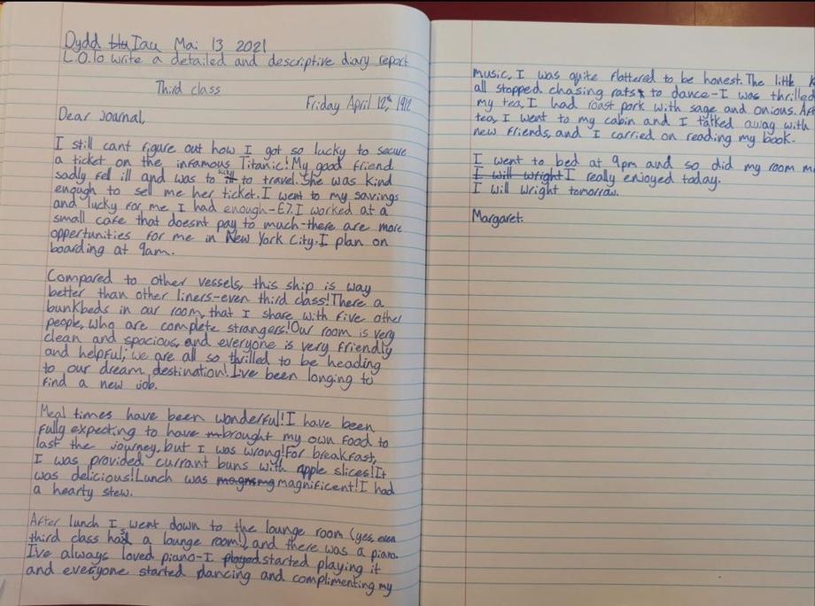 Amazing diary extracts!