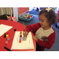 Making marks that represent numbers