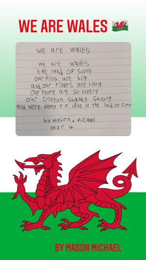 Mason's We Are Wales Poem