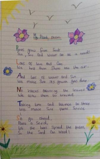 Lovely poem Olivia W