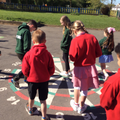 The Criw taught us playground games.